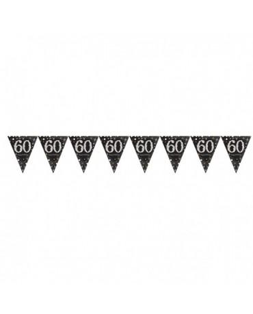 Banner vlajok na 60.ku - čierny 1ks