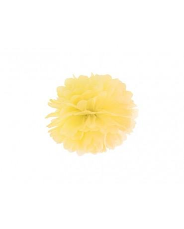 Pompón - žltý 25cm