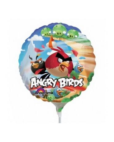 """Fól. balón Angry Birds 9"""" 1ks"""