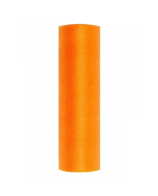 Organza snehovo oranžová