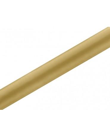 Satén zlatý 0,36x9m