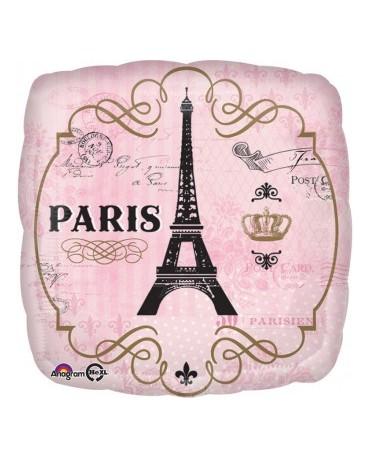 Fól. balón Paris 43cm 1ks