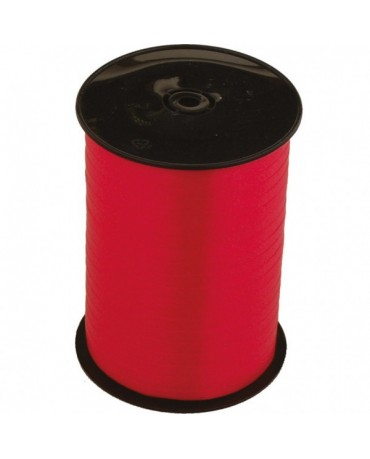 Stuha na balóny - červená500m x5mm