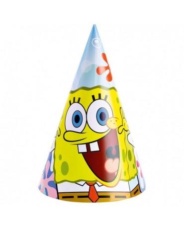 Klobúčiky SpongeBob 6ks