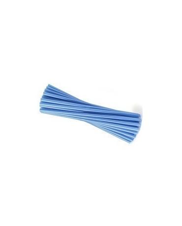 Slamky - modré 25 cm - 20ks