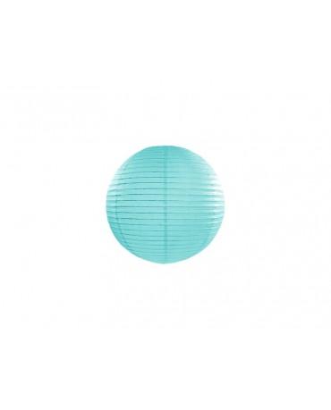 Dekorácia- lampión- tyrkysový 20cm