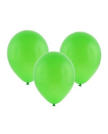 """Latexové balóny pastelové zelené 12"""" 10ks"""