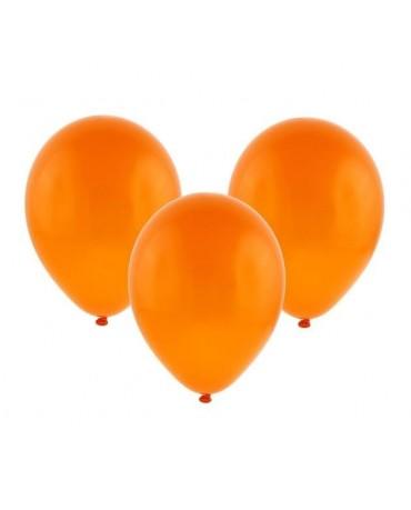 """Latexové balóny pastelové -oranžové 12"""" 10ks"""