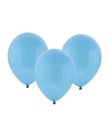"""Latexové balóny pastelové -modré 12""""  10ks"""