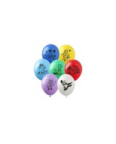 Latexové balóny rozprávkové motívy 10 ks