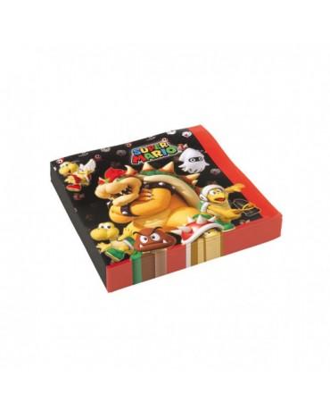 Servítky Super Mario 33x33cm 20ks