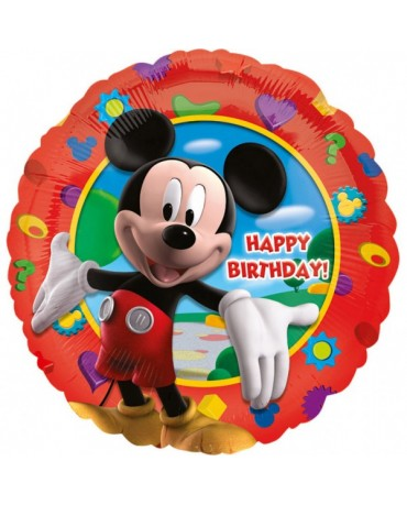 Fóliový balón Mickey Happy Birthday S60