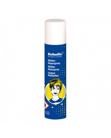 Trblietavý sprej na vlasy modrý 100ml
