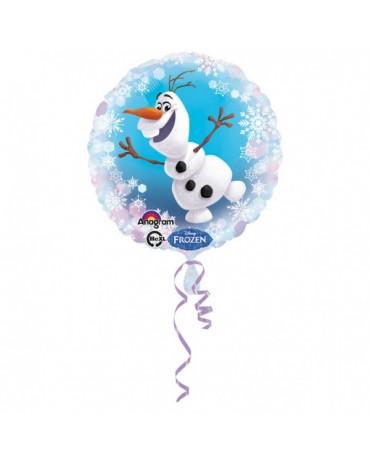 Fóliový balón Olaf 43cm