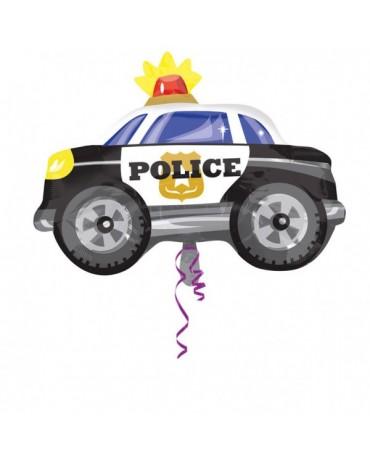 Fóliový balón policajné auto 60x45cm