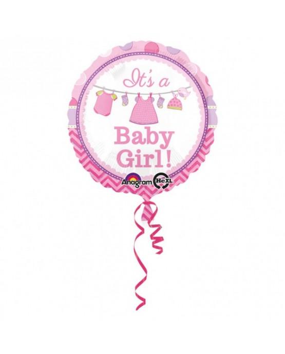 Fóliový balón It s a Girl 43cm