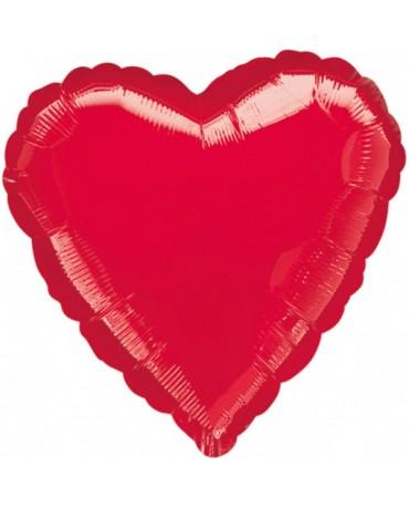 Fóliový balón červené srdce P30