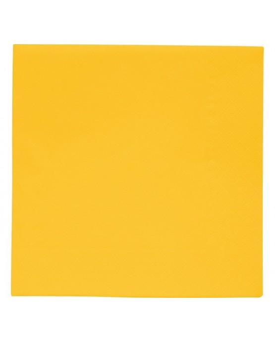 Servítky žlté 33x33cm 30ks