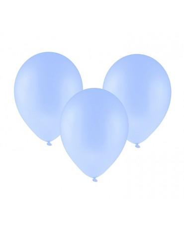 Latexové balóny pastelové - bledomodré 12'' 100ks