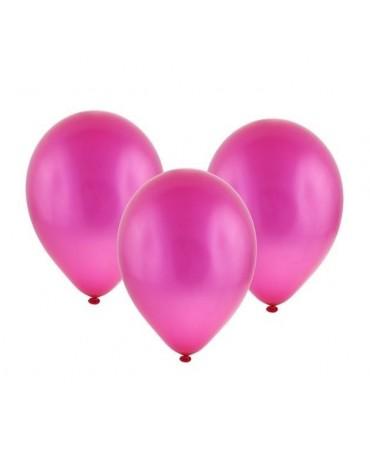 Latexové balóny metalické - tmavo ružové 12''100ks