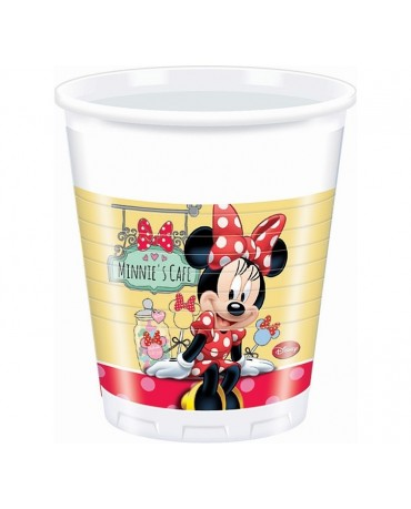 Poháriky Minnie cafe 200ml 8ks
