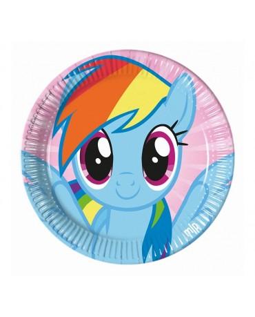 Tanieriky Pony 23cm 8ks