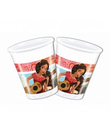 Plastové poháriky Elena 200ml 8ks