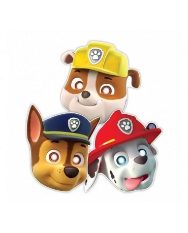 Maska papierová psí patrol 8ks