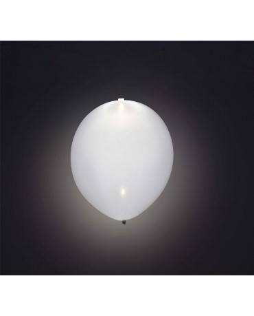 Svietiace balóniky biele 4ks