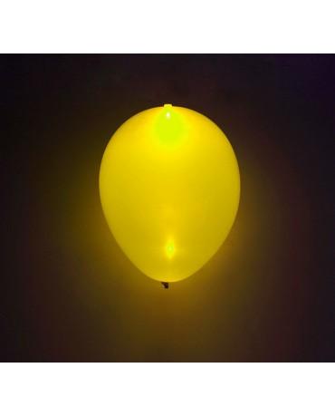 Svietiace balóniky žlté 4ks