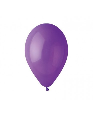 Pastelové balóny fialové 12'' 100ks