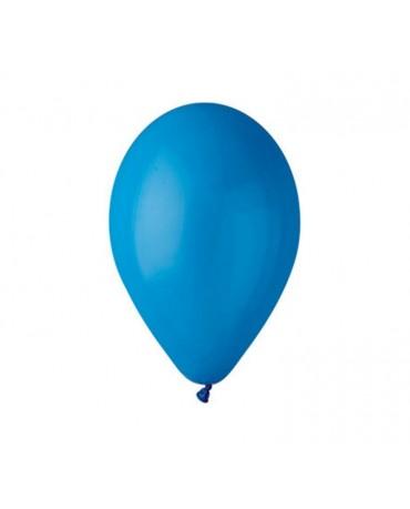 Pastelové balóny modré 12'' 100ks