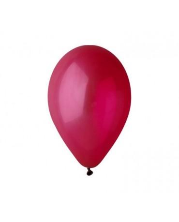 Pastelové balóny bordové 12'' 100ks