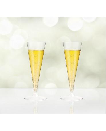Poháre na šampanské 120ml 2ks