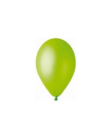 Metalické balóny pistáciové 12'' 100ks