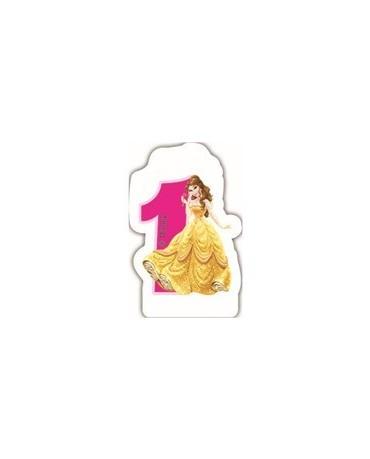 """Sviečka Princess- číslica """"1"""" 1ks/P2"""