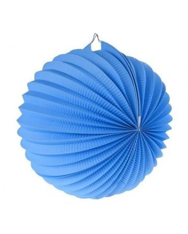 Dekorácia guľa modrá 25cm 1ks