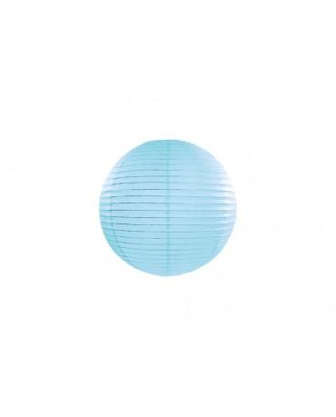Dekorácia - lampión- modrá lopta 25cm