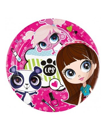 Tanieriky Littlest Pet Shop 23cm - 8ks