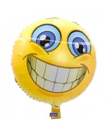 Fóliový balón emoticon 45cm