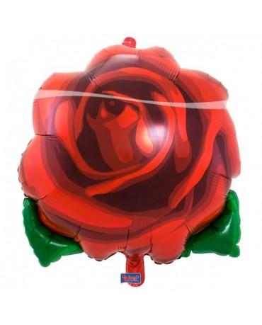 Fóliový balón ruža