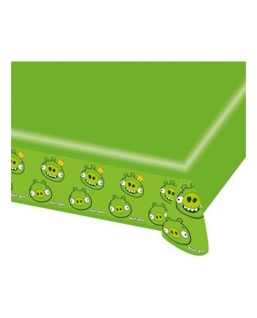 Obrus Angry Birds zelený- 120 x 180 cm - 1 ks/P134