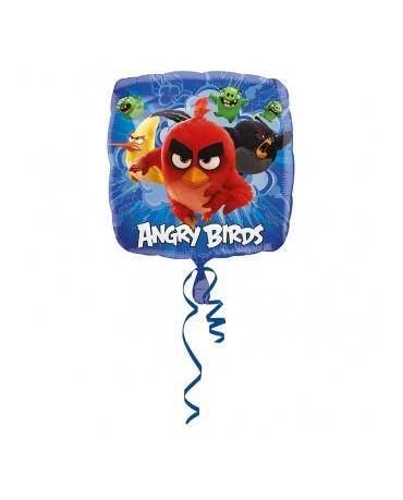 Fól. balón Angry Birds -modrý 43cm  1ks