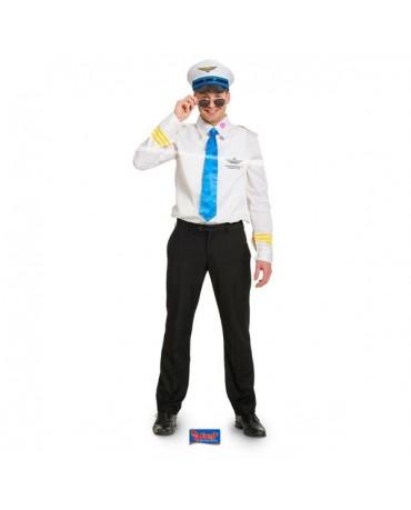 Kostým pilot M/L