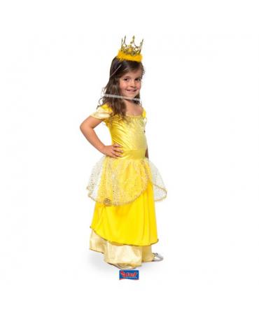 Kostým princezná zlatý M