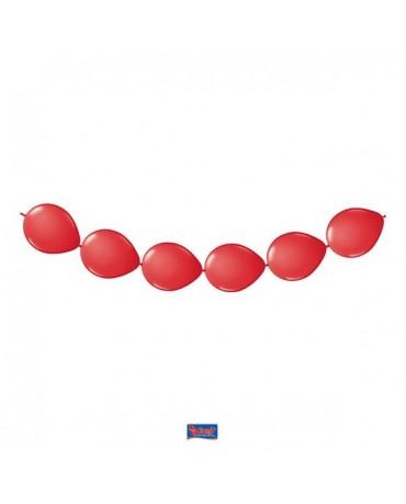 Latexové balóniky červené 3m 8ks