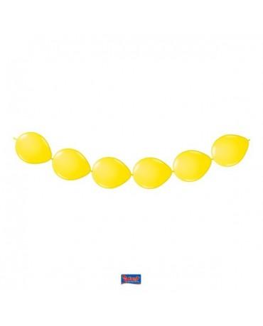 Latexové balóniky žlté 3m 8ks