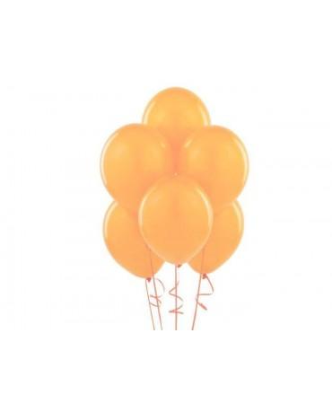 """Latexové balóny pastelové pomarančové 12"""" 10ks"""
