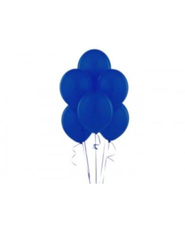 "Latexové balóny pastelové tmavomodré 12"" 10ks"