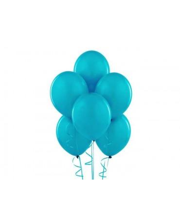 """Latexové balóny pastelové tyrkysové 12"""" 10ks"""